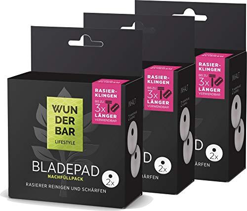 Bladepad - Recambio para maquinilla de afeitar en húmedo (6 unidades)