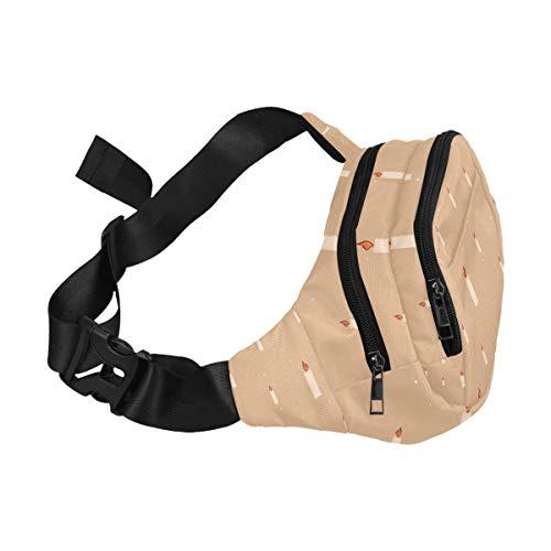 Womans Weekender Bag Cute Creative Cartoon Fire Extinguisher Adjustable Belt Waterproof Nylon Fenny Pack Waist Packs For Men Woman Designer Bag Waist Bag Lightweight