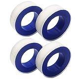 CZ Store®-Teflon|MEDIDAS 12M x 17 MM|✮✮GARANTíA DE POR VIDA✮✮- Manufactura en cinta PTFE |Juego de 2|cinta de selllado para trabajos de fontanería ducha/bañera/grifería/manguera/junta/arandela