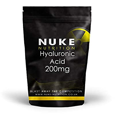 Nuke Nutrition Hyaluronic Acid 200mg - Pack of 120 Capsules