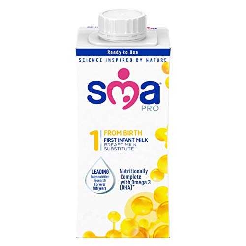 SMA Pro First Infant Milk from Birth, 200 ml, Pack of 12