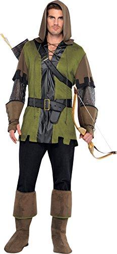 amscan- Disney Deguisement Homme Prince des Voleurs M/L, 844178-55