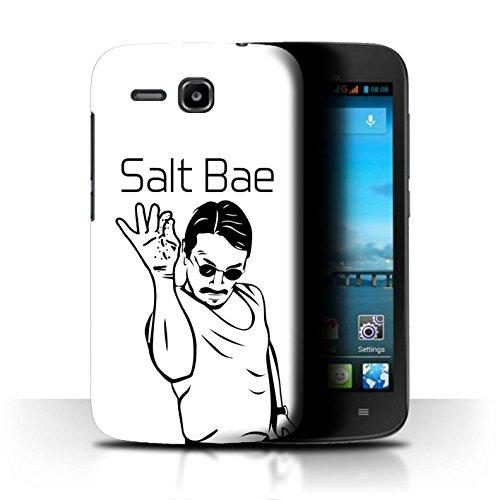 Stuff4 Hülle/Hülle für Huawei Ascend Y600 / Salt Bae Muster/Lustiges Internet Memes Kollektion