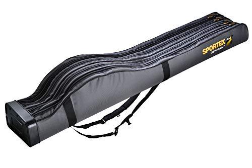 Sportex Rutenfutteral SuperSafe grau 4Fach 165cm