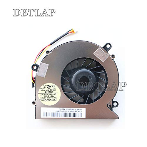 DBTLAP CPU Ventilador compatibles para Acer Aspire 5710 5710G 5710Z 5710ZG 5715...