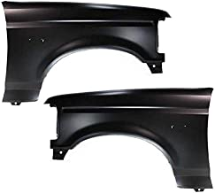 Partomotive For 92-97 F-Series Truck Front Fender Quarter Panel Left Right Side SET PAIR