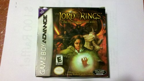 The Lord of The Rings: The Fellowship of The Ring - Game Boy Advance