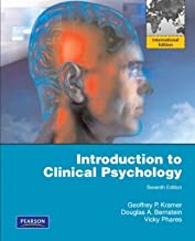 Introduction to Clinical Psychology by Geoffrey P. Kramer (2009-07-10)