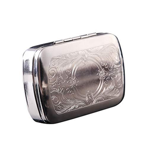 XBZZ Estuche para Cigarrillos, Estuche para Tabaco triturado de Metal, Estuche para Tabaco triturado Enrollado a Mano, Estuche para Cigarrillos Moderno y Conveniente (tamaño: 86 * 57 * 26 mm)