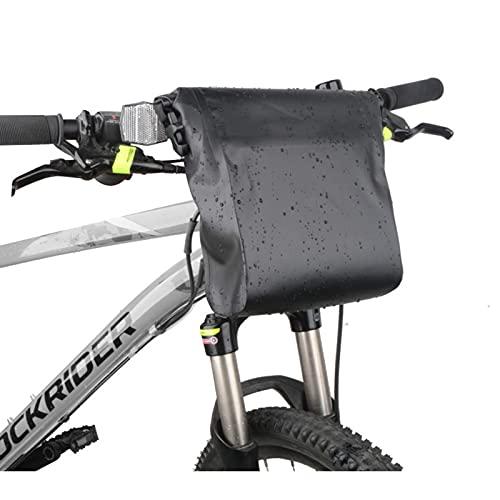 GELEI Bike Handlebar Bag 5L Bike Rack Bag for Outdoor Storage Bicycle Pannier, Waterproof Cycling Rack Basket Bag for Commuter Outdoor Traveling