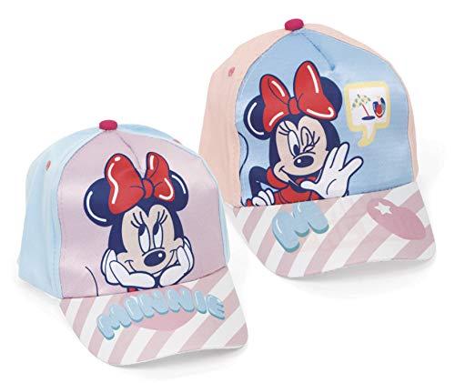 Gorra Disney Minnie - 2 DISEÑOS SURT. Material: ALGODÓN-Polyester Talla: 48/51-1 Unidad aleatoria