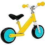 BHHT Baby Balance Bike Baby Scooter Bicicleta de Dos Ruedas Balance Walker Foot Bike Bicicleta Infantil para niños de 2 a 6 años Regalo de cumpleaños para niños y niñas (Color : Yellow)