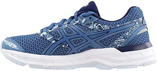 ASICS Gel-Excite 4 - Scarpe da corsa da donna, blu (Azzurro/Peacoat), 42 EU