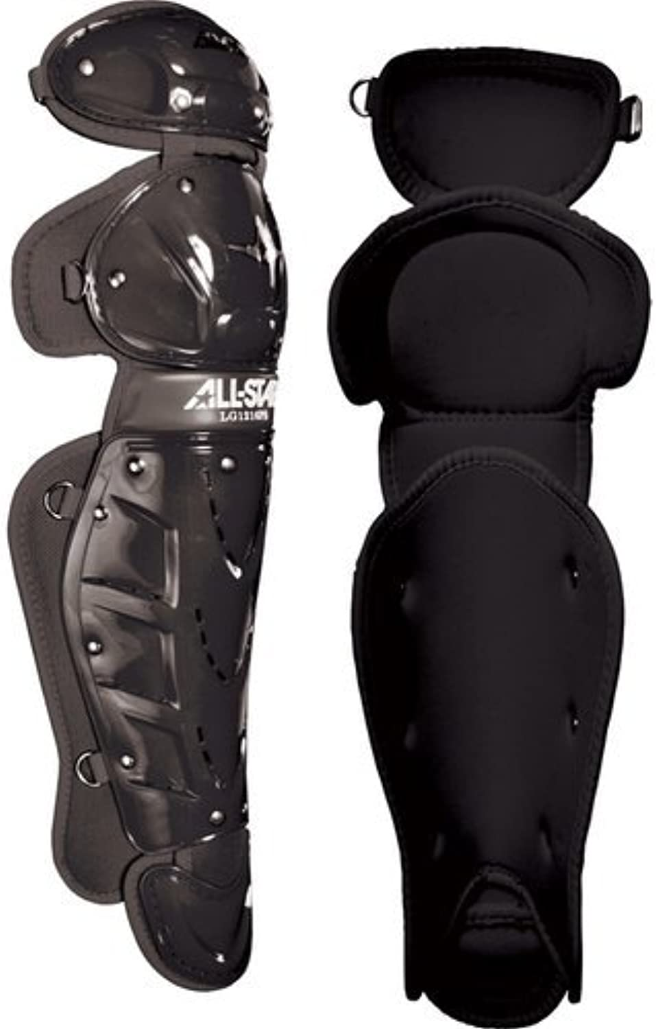(NA, Black)  AllStar Youth Player's Series (912) Catcher's Leg Guards