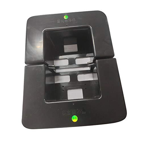 MERIGLARE Float Bobber voor 6-12 Hoofd Ultrasone Mist Maker Fogger Fontein Onderdelen Zwart