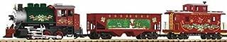PIKO G SCALE MODEL TRAINS - CHRISTMAS FREIGHT STARTER SET (120V) - 38105