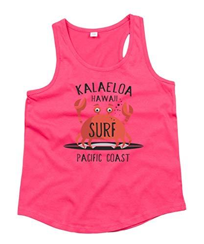 Tank Top - Hawaii Krebs Surfen Krabbe - Tops Unisex für Kinder - Jungen und Mädchen