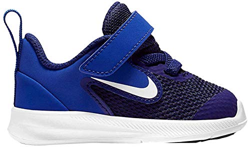 Nike Unisex Baby Downshifter 9 (TDV) Niedrige Hausschuhe, Mehrfarbig (Deep Royal Blue/White/Game Royal/Black 000), 22 EU