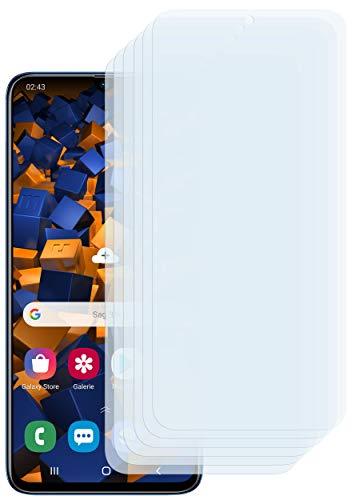 mumbi Schutzfolie kompatibel mit Samsung Galaxy A70 Folie klar, Bildschirmschutzfolie (6X)