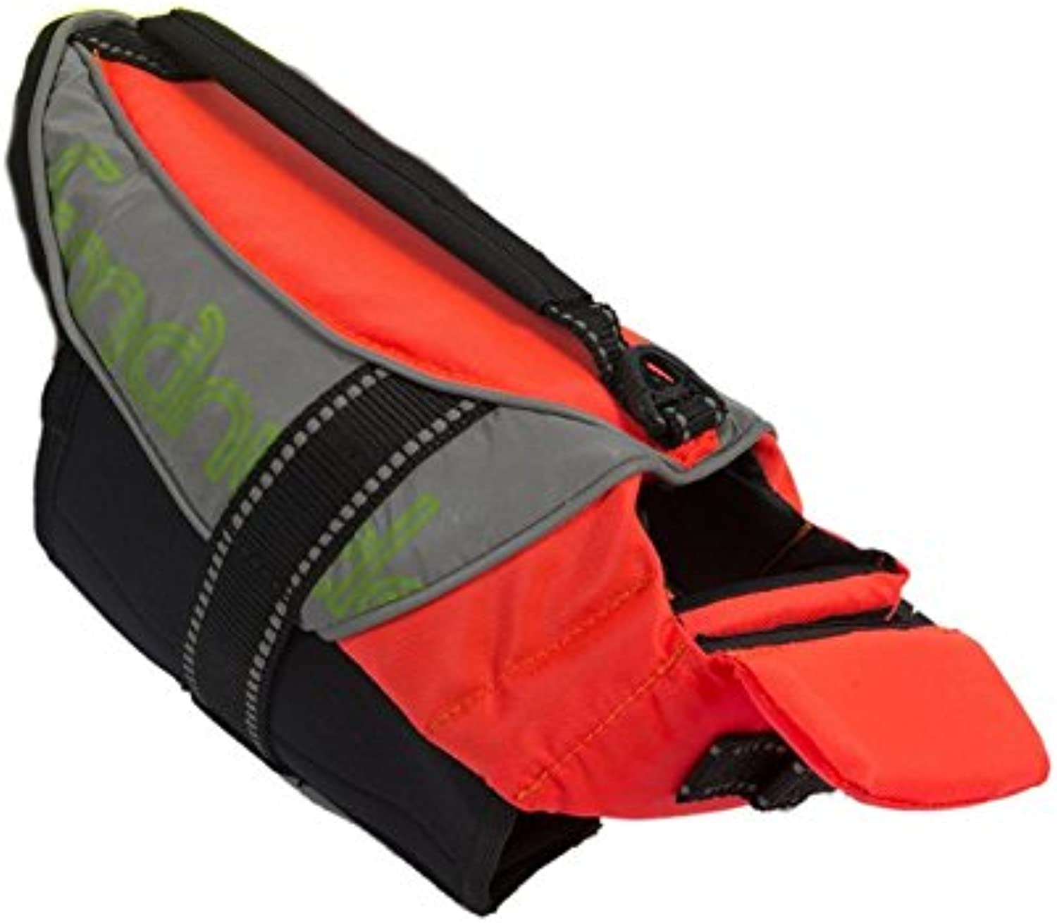 Petego Salty Dog Pet Life Vest, XSmall, Fits Girth 17 to 2Inch, orange