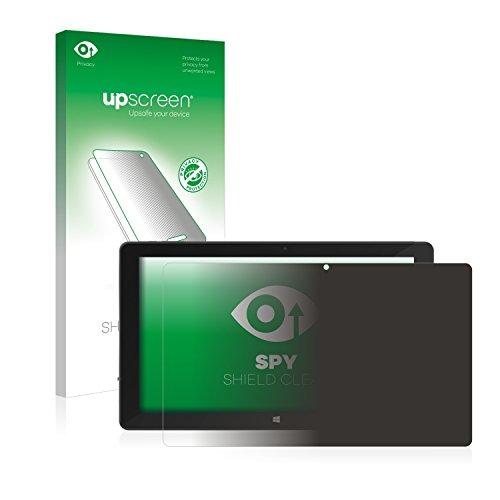 upscreen Anti-Spy Blickschutzfolie kompatibel mit TrekStor SurfTab Duo W3 Privacy Screen Sichtschutz Bildschirmschutz-Folie