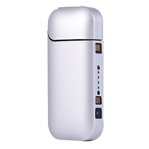 Joma-E Shop Custodia portatile in policarbonato per sigaretta elettronica , custodia di protezione, antigraffio, custodia professionale da viaggio per kit sigaretta elettronica Sliver