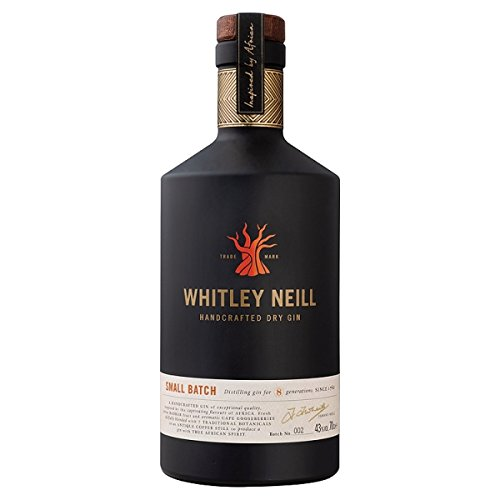 Photo of Whitley Neill Handcrafted Dry Gin 70cl (Pack of 6 x 70cl)