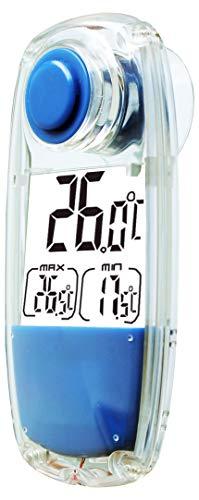 POWERplus Parrot Solar LCD Thermometer für Innen- oder Außen-Gebrauch.