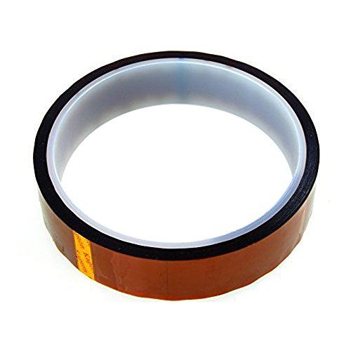 Haobase 20mm * 33m * 0,05mm (100ft) Hitzebeständiges Kaptonband