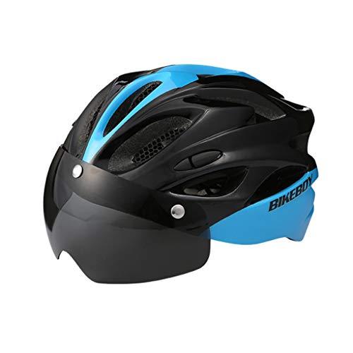 TOPEREUR Fahrradhelm Damen Herren Radhelm für Erwachsene, EPS Körper + PC Schale, Atmungsaktiv Robust und Ultraleicht, Verstellbar Helm (56-62cm)