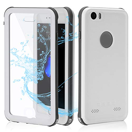 Cellphone Waterproof Case | Underwater Full Body Snow-Proof Shock-Proof Dirt-Proof Hard Cover |Touch ID Available | Access to All Functions