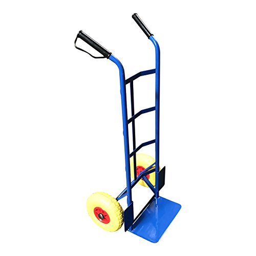 G-Rack Steel Sack Truck with Anti Puncture Tyres