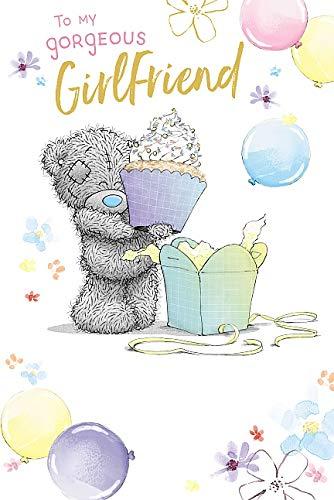Girlfriend Birthday Me To You Bear Tatty Teddy Carte Blanche Birthday Card