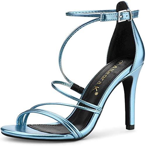 allegra k stilettos Allegra K Women's Party Strappy Stiletto High Heels Sandals