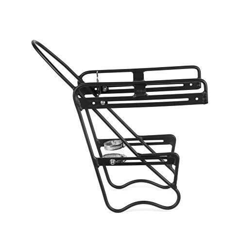 ZEFAL Raider Front - Porte-bagage avant vélo - Montage universel, Noir, Pour fourche de 25 à 42 mm de diamètre
