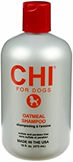 CHI for Dogs Oatmeal Shampoo for Dry and Irritated Skin - 16 oz