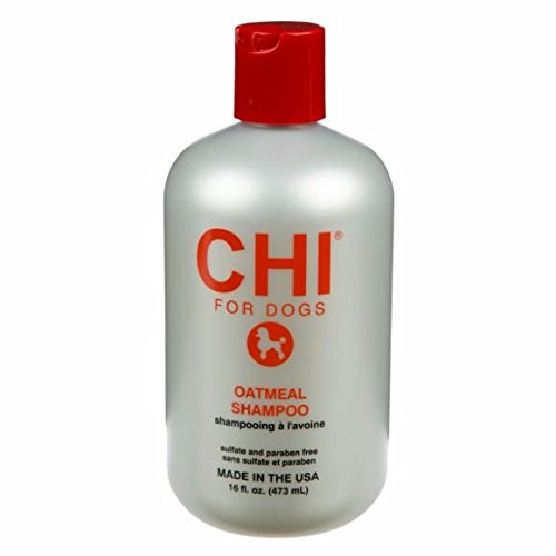 CHI for Dogs Oatmeal Shampoo for Dry and Irritated...