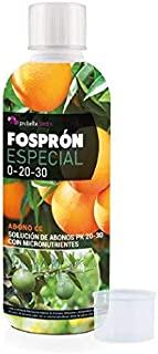 Probelte Jardín Fertilizante Fosprón Especial Abono PK 20-30 con Micronutrientes 500 CC