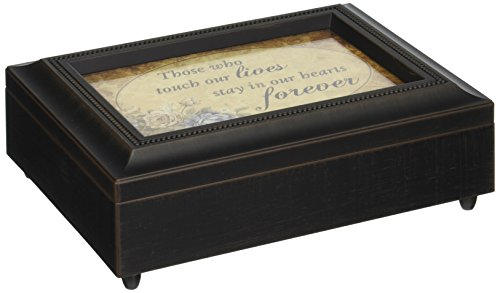 Carson Home Accents Hearts Forever Musik Box