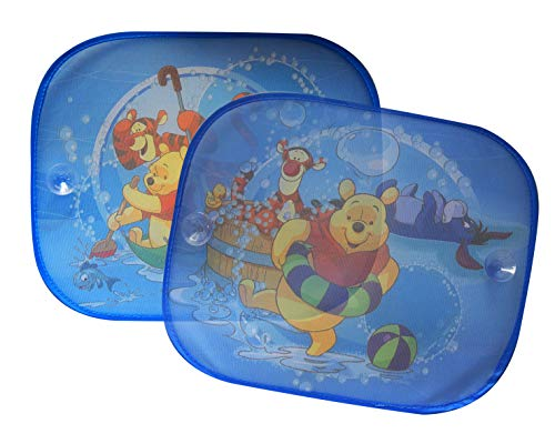 Winnie Pooh WPSAA019 Sonnenschutz Piglet, 36x45 cm,paar