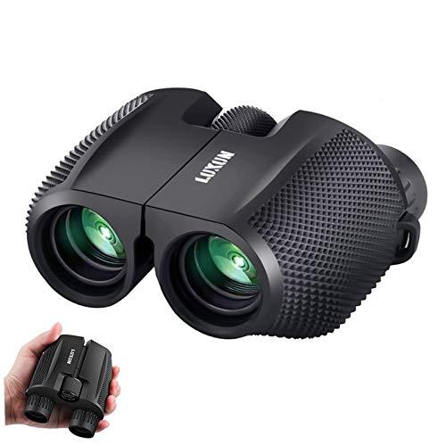 SGODDE Compact Binoculars for Adult Kids 10x25 Waterproof Binocular Weak Light Night Vision Folding...