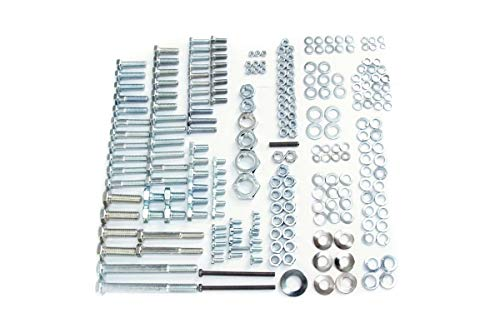 Schraubensatz, Normteile für Rahmen MZ TS 125, 150 (242 Teile)