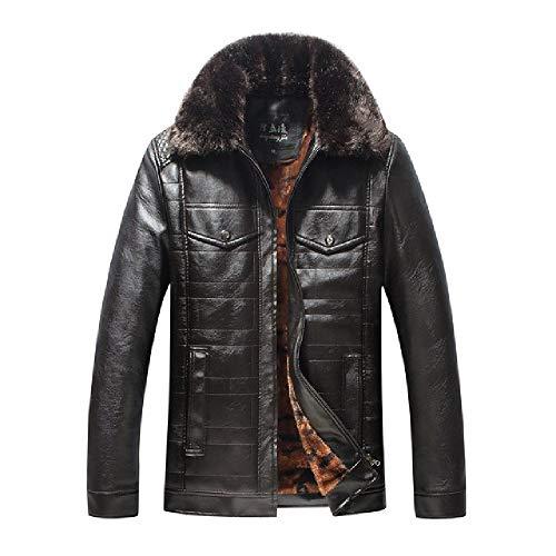 Herren Winter Motorrad Jacken Herren Warme Windbreaker Baseball Fleece JackenDicke Schlanke Kleidung