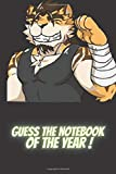 guess the notebook of the year !: Lined Notebook / Journal Gift, 100 Pages, 6x9, Soft Cover, Matte Finish
