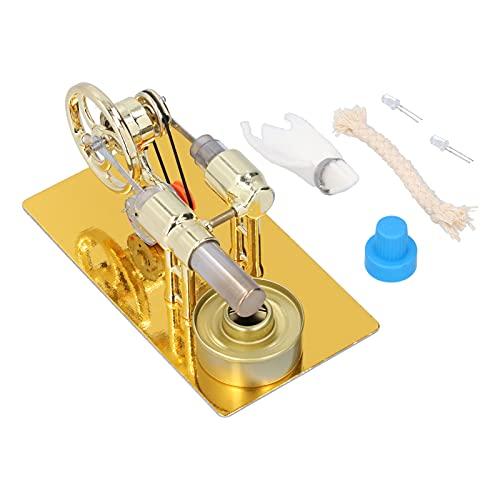 Mini modelo de motor, motor Stirling Mini con reemplazo de operación simple para bricolaje. para la decoración de ayudas didácticas