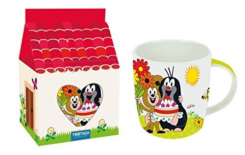 Trötsch Der kleine Maulwurf Tasse im Papphaus: Aus Porzellan