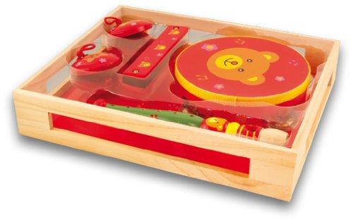 Ulysse - 4007 - Instrument de Musique - Set 4 Instruments - Ourson