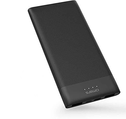 Omars Power Bank 10000mAh Caricabatterie portatile ultra sottile...