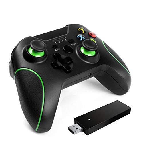 LIMIAO Controlador Xbox One 2.4G inalámbrico, Joypad Remote Compatible con PS3 y PC Windows 7/8/10, para Controlador PS3