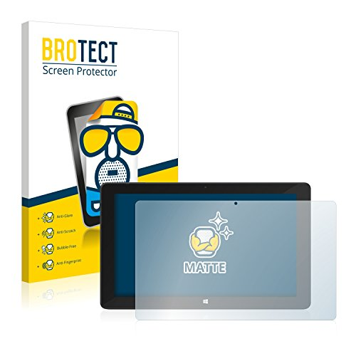 BROTECT Entspiegelungs-Schutzfolie kompatibel mit TrekStor SurfTab Twin 11.6 (Volks-Tablet 2016) Bildschirmschutz-Folie Matt, Anti-Fingerprint